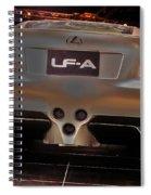 2007 Lexus Lf-a Exotic Sports Car Concept No 3 Spiral Notebook