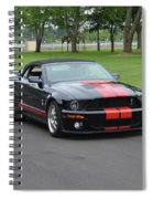 2008 Ford Cobra Weary Spiral Notebook