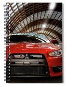 2008 Mitsubishi Lancer Evolution X Spiral Notebook