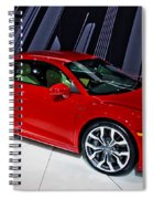 2009 Audi R8 Number 1 Spiral Notebook