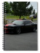2009 Challenger Rt Lind Spiral Notebook