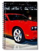 2009 Dodge Challenger Number 2 Spiral Notebook