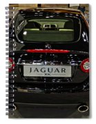 2009 Jaguar Xk Spiral Notebook