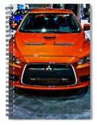 2009 Mitsubishi Lancer Spiral Notebook