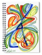 2010 Abstract Drawing Eight Spiral Notebook