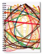 2010 Abstract Drawing Fifteen Spiral Notebook