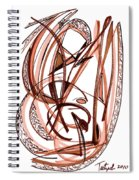 2010 Abstract Drawing Five Spiral Notebook