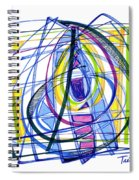 2010 Abstract Drawing Nineteen Spiral Notebook