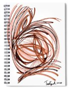 2010 Abstract Drawing Six Spiral Notebook