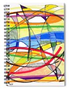 2010 Abstract Drawing Sixteen Spiral Notebook