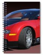 2010 Bugatti Veyron E. B. Sixteen Spiral Notebook