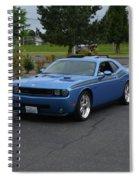 2010 Dodge Challenger Amilowski Spiral Notebook