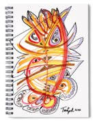 2010 Drawing Three Spiral Notebook