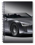 2011 Audi Etron Spyder Spiral Notebook