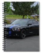 2011 Dodge Charger Rt Lopez Spiral Notebook