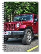 2011 Jeep Wrangler Spiral Notebook
