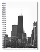 2012 08 11 Bw Chicago Dsc_1612_sig Spiral Notebook