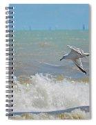 2012 08 11 Chicago Dsc_1571 Spiral Notebook