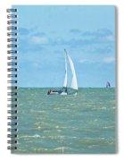2012 08 11 Chicago Dsc_1630 Spiral Notebook