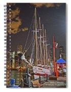 2012 08 12 Chicago Dsc_0342 Spiral Notebook