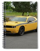 2012 Dodge Challenger Rt Clark Spiral Notebook