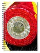 2012 Ferrari 458 Spider Brake Light Spiral Notebook
