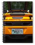 2012 Mc Laren Exhausts And Taillights Spiral Notebook