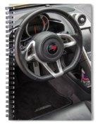2012 Mc Laren Steering Wheel Spiral Notebook