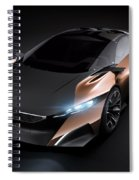 2012 Peugeot Onyx Concept Spiral Notebook