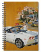 2013 Chevrolet Corvette Spiral Notebook