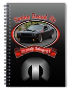 2013 Dodge Challenger Rt Wheeler Spiral Notebook
