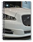 2013 Jaguar Xjl Portfolio Awd Spiral Notebook