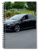 2014 Dodge Dart Gt Jones Spiral Notebook