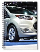 2014 Ford Transit Connect Wagon Spiral Notebook