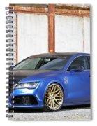 2014 Mr Racing Audi A7 Sportback 3tdi Spiral Notebook