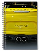 2014 Porsche Cayman S Number 2 Spiral Notebook