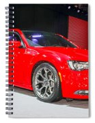 2015 Chrysler 300 Sport Spiral Notebook
