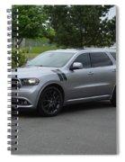 2015 Dodge Durango Rt Webster Spiral Notebook