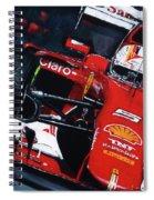 2015 F1 Ferrari Sf15-t Vettel Spiral Notebook