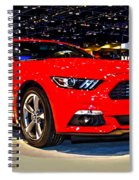 2015 Ford Mustang Coupe I4 Premium Spiral Notebook
