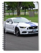 2015 Ford Mustang Gt James Tami Spiral Notebook