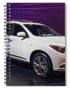 2015 Infiniti Qx60 Spiral Notebook