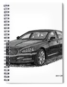 2015 Jaguar X J L Spiral Notebook
