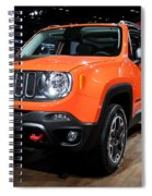 2015 Jeep Renegade Trailhawk Number 3 Spiral Notebook