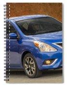 2015 Nissan Versa Sedan Spiral Notebook