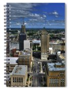 2015 View Of Court Street Spiral Notebook