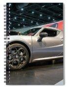 2016 Alfa Romero 4c Spider Spiral Notebook