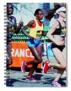 2016 Boston Marathon Winner 2 Spiral Notebook