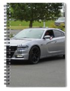2016 Charger Rt Rice Spiral Notebook