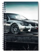 2016 Fostla De Bmw M3 Coupe 2 Spiral Notebook